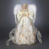 Item # 102228 - Gold Angel Tree Topper With 10 Lights