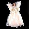 Item # 102239 - Ivory Angel Tree Topper With 10 Lights
