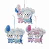 Item # 102358 - Baby's First Christmas Twin Bears Train Ornament