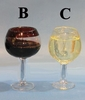 "Item # 102465 - 2.5-2.75"" Wine Glass Ornament"
