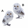 Item # 102468 - White/Black Owl Ornament