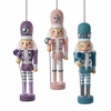 Item # 102494 - Hollywood Pastel Nutcracker With Stone Ornament