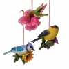 Item # 102597 - Bird With Flower Ornament