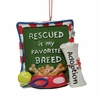 Item # 102673 - Rescued Sign Ornament