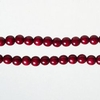Item # 102720 - 9 Feet Long Burgundy Bead Garland