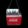 "Item # 102729 - 3.5"" Coke Bottles In Cooler Christmas Ornament"