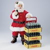 Item # 102753 - Coke Santa With Delivery Cart Sit Around
