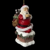 "Item # 102769 - 4.5"" Coke Santa In Chimney Christmas Ornament"