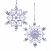 Item # 102860 - Frosted Kingdom Snowflake Ornament