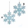 Item # 102961 - Blue/Silver Snowflake Ornament