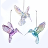 Item # 103077 - Iridescent Hummingbird Ornament
