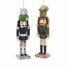 "Item # 103093 - 6"" Tiger/Leopard Hat Nutcracker Christmas Ornament"