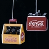 "Item # 103139 - 1.75-2.5"" Coke Bottles Ornament"