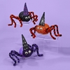 "Item # 103227 - 5.5"" Battery Operated LED Lighted Spider Christmas Ornament"