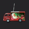 "Item # 103295 - 3.75"" Coca-Cola Truck Christmas Ornament"