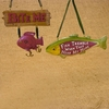"Item # 103321 - 4.75"" Resin Fisherman Ornament"