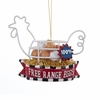 "Item # 103329 - 4.5"" Resin/Metal Free Range Eggs Christmas Ornament"