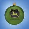 Item # 103366 - Shatterproof John Deere Disc Ornament
