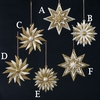 Item # 103440 - Gold/Silver Sunflower/Star Ornament