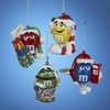 "Item # 103650 - 3.5"" M&M's Christmas Ornament"