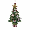 "Item # 103979 - 4.5"" Resin Nautical Christmas Tree Christmas Ornament"