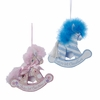 Item # 104060 - Baby's First Christmas Rocking Horse Ornament