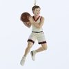 "Item # 104245 - 5"" Resin Basketball Boy Christmas Ornament"