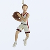 "Item # 104250 - 5"" Resin Basketball Girl Christmas Ornament"