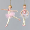 "Item # 104505 - 5.5"" Resin Ballerina Christmas Ornament"