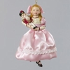 "Item # 104506 - 5.25"" Resin Clara With Nutcracker Christmas Ornament"
