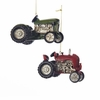 "Item # 104586 - 2.5"" Resin Farm Tractor Ornament"