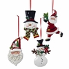 Item # 104595 - Santa/Snowman Ornament