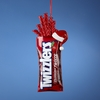 Item # 104687 - Twizzlers In Bag Christmas Ornament