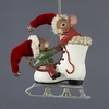 Item # 104811 - Mice With Ice Skate Ornament