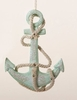 """Item # 104982 - 4.75"""" Wooden Anchor Christmas Ornament"""