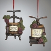 "Item # 105034 - 4"" Wine Press Ornament"