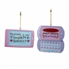 Item # 105137 - Resin Cell Phone/Texting Ornament