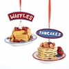 "Item # 105306 - 2.75"" Waffles/Pancakes Ornament"