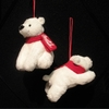 "Item # 105368 - 3.5"" Coca-Cola Polar Bear Ornament"
