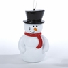"Item # 105412 - 6"" Snowman Blow Mold Christmas Ornament"
