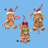 Item # 105436 - Claydough Gingerbread Boy/Girl Christmas Ornament