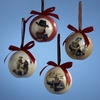 Item # 105443 - 70 MM John Wayne Ball Christmas Ornament