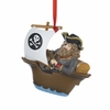 Item # 105511 - Pirate In Ship Christmas Ornament