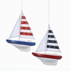 Item # 105533 - Yacht With Sails Christmas Ornament