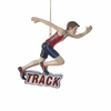 Item # 105545 - Track Boy Christmas Ornament