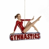 Item # 105553 - Gymnastics Girl Christmas Ornament