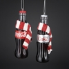 Item # 105561 - Coke/Diet Coke Bottle With Scarf Christmas Ornament