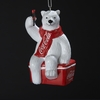 Item # 105562 - Coca-Cola Polar Bear On Cooler Ornament