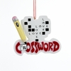 Item # 105603 - Crossword Christmas Ornament