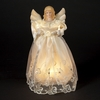 Item # 105647 - Gold/Ivory Angel Tree Topper With 10 Lights